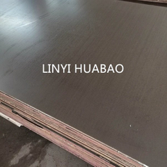 Phenolic Resin Plywood Combined Core Brown Film First Grade