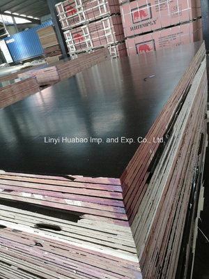 A/A Grade WBP Glue Film Faced Plywood for Construction (HB1601)