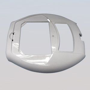Injection molded plastic lid cover for electric rice cooker (PL18028)