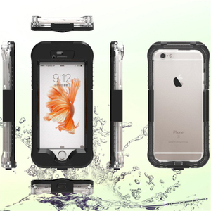 Upgraded Pet Touch Screen Film Waterproof Phone Cases for iPhone
