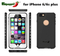 Colorful Mobile Phone Accessories Waterproof Case for iPhone 6/6s Plus