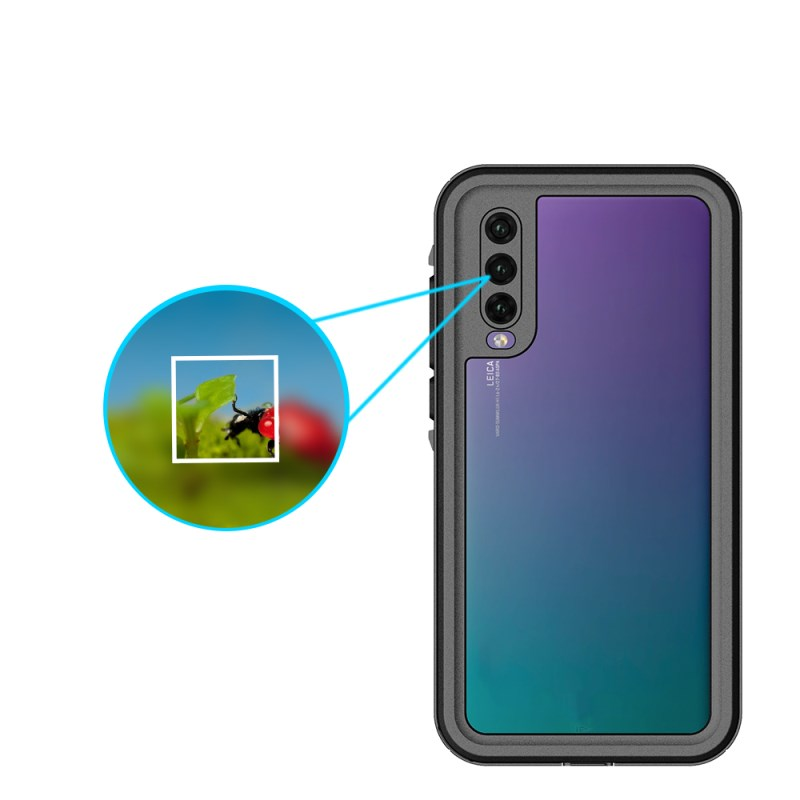 Waterproof Phone Case for Huawei P20 Pro IP68 Dirtproof Protective Waterproof Case for Huawei P20 Pro