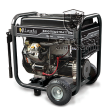 12.5kVA BRIGGS&STRATTON Design 4-Stroke Gasoline Generator with Handles and Wheels