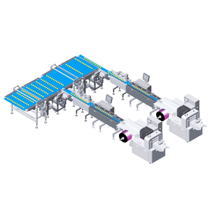 Horizontal Packing Line for Cakes/Breads