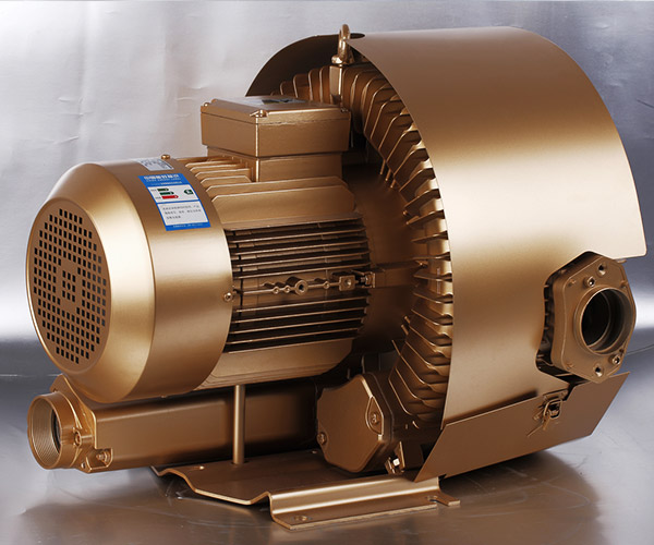 Double stage side channel blower