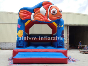 RB1052( 4x5m ) Inflatable Fish Bouncer/ Inflatable Small Bouncer for Kids