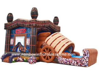 RB3031(8x4x4.6m) Inflatables Saloon Bouncy Combo