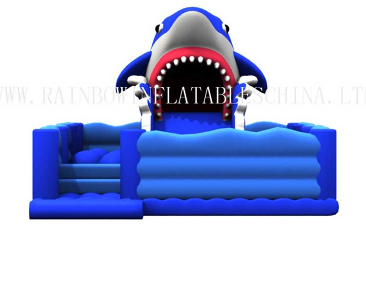 RB01047 (7x10x5m) Inflatable Shark Park Funcity for kids