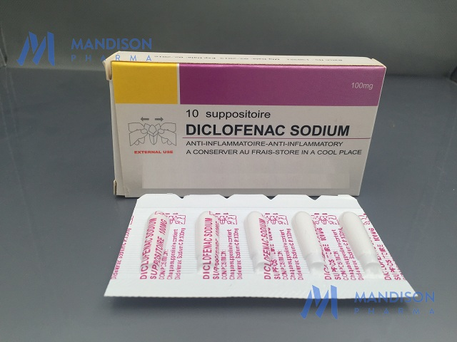 Diclofenac Sodium Suppositories