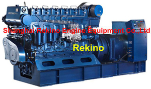 Weichai WHM6160 series 350-500KW 50HZ high speed marine diesel generator set
