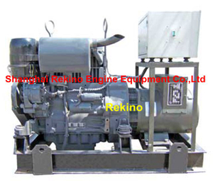 Deutz F3L912 15-24KW 50HZ Air cooled diesel genset set