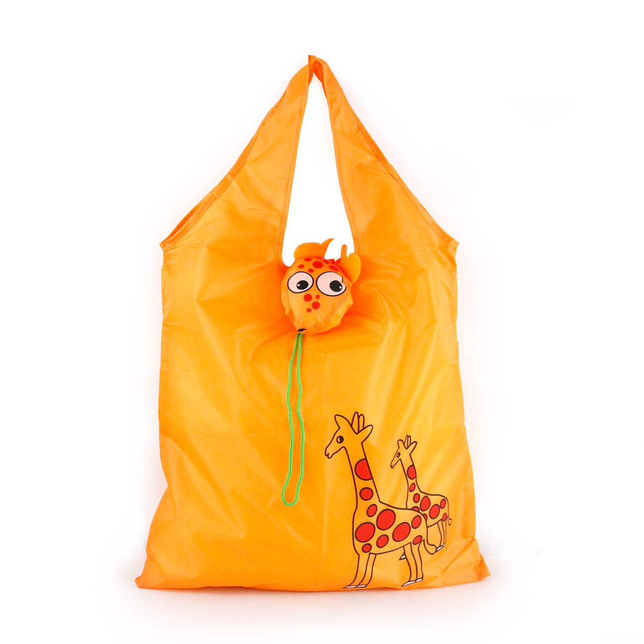 Foldable Animal Giraffe Shopping Bag