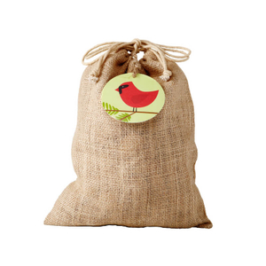 Personalized linen drawstring bags cheap