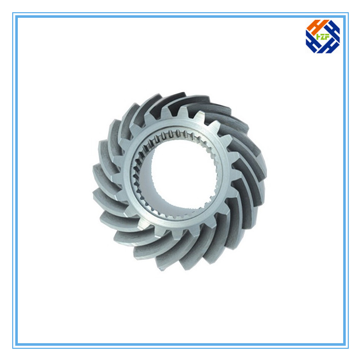 CNC Machined Parts for Gear and Gear Reducer-2