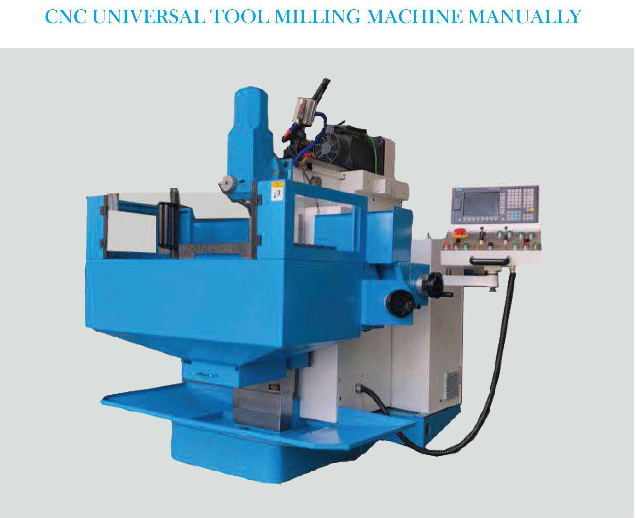 CNC UNIVERSAL TOOL MILLING MACHINE MANUALLY XKF8130