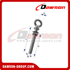 Aço inoxidável tipo europeu Forged Shoulder Eye Bolt