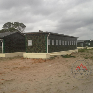 Military Camp in Maputo, Mozambique