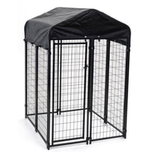 6'X4'x4' welded dog kennel with roof
