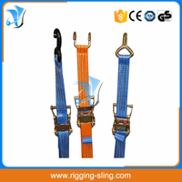 EN12195-2 standard ratchet lashing strap