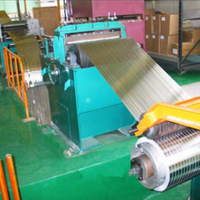 slitting machine metal sheet