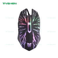 Hot Sale Gaming Mouse,6 Buttons,800/1200/1600/2400 DPI