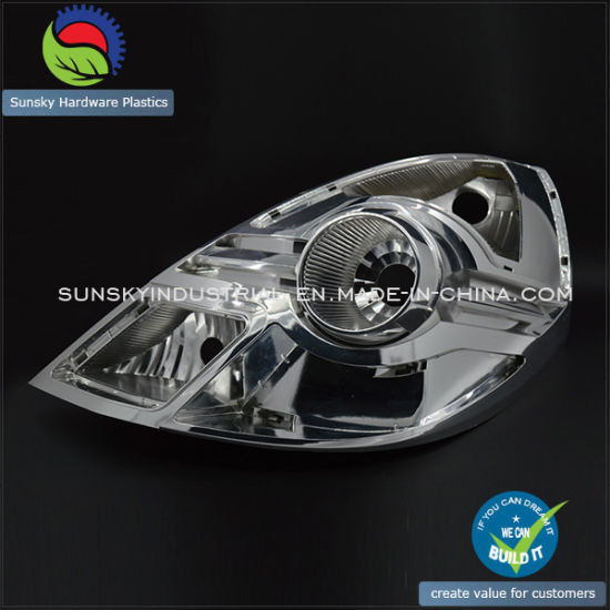 SLA Rapid Prototype for Car Head Lamp Base (PR10038)