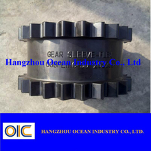One-Piece Clamp Style Rigid Coupling with Keyway