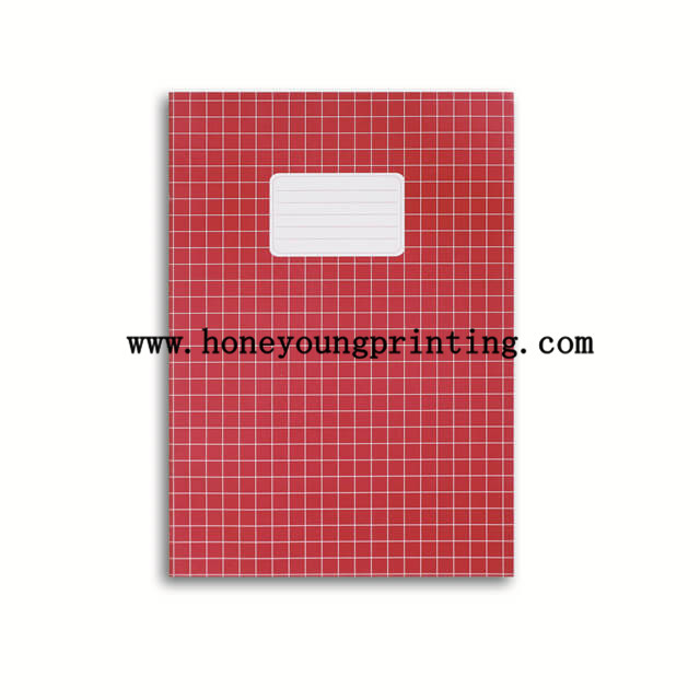 A4 staple binding 10*10 square exercise book