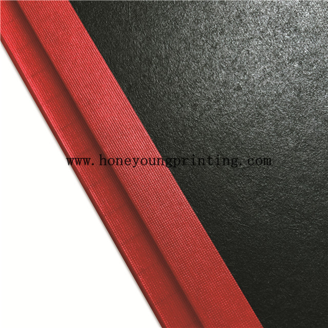 Lesotho hard black cover counter book with red type sewing binding for free primary education A4 A5 2 3 QUIRE