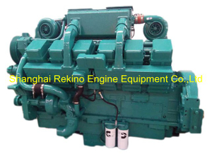 CCEC Cummins KT38-GA G Drive diesel engine motor for genset generator 647KW 1500RPM
