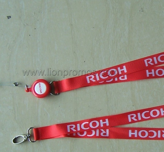 RICOH Lofo Events Staff Sublimation Printing Lanyard
