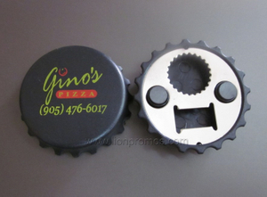 Restaurant Promotional Gift Beer Bottle Opener and PET Drink Bottle Opener Two Fuctions