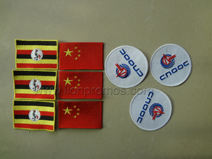 National Flag Embriodery Badge Patch for Apparel,Bag