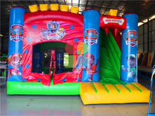 RB2015-5(4.5x5m) Inflatable Rainbow Hot Sale dog theme Castle for sale