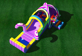 Factory Inflatable Obstacle Course For Outdoor