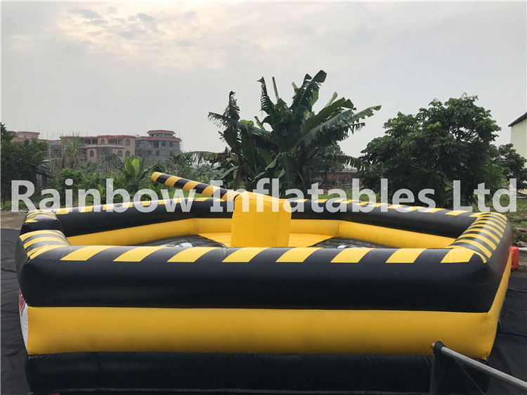 Why is the inflatable meltdown game so popular?