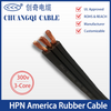 HPN America Flat Rubber Cable UL Approved