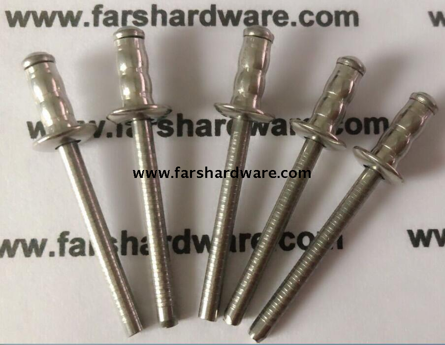 All Stainless Steel Multi-grip Pop Rivet