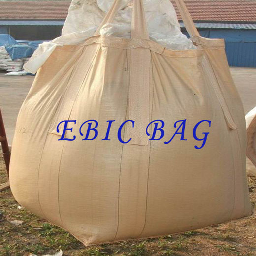 Tubular Big Bag with cross corner loops