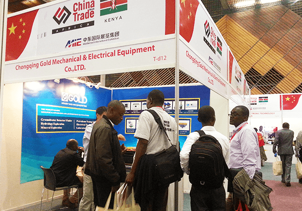 Participated in tradeshow in Kenya in 2016