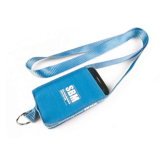 Custom cell phone lanyards for promotional event