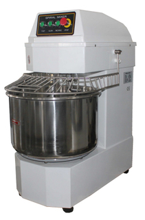 Commercial horizontal dough mixer two speeds double action ZBMS70