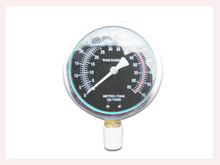 PG-028 Liquid Pressure Gauge with bottom connection