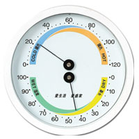 SP-X-4WS(WHITE) Household-use Thermometers Hygrometer