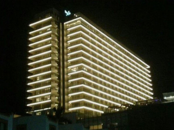 Exterior Building Decoration And Lighting