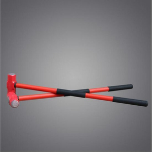 High Quality High Carbon Steel Sledge Hammer with Fiberglass Handle