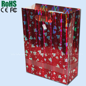 Beautiful gift bag with music module