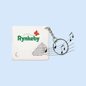 Custom Printing and Music Voice Recording Sound Key Holder