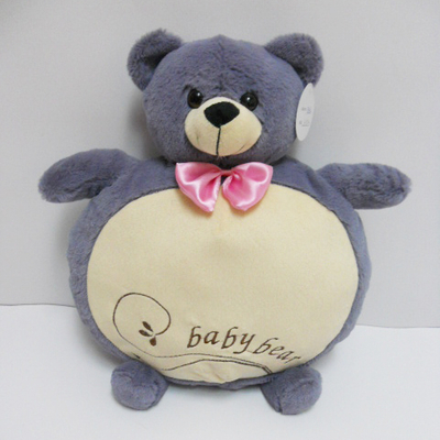 Hot Sale Plush Stuffed Baby Teddy Bear Pillow