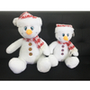 Christmas Festival Decorative Plush Toy Snowman with Hat
